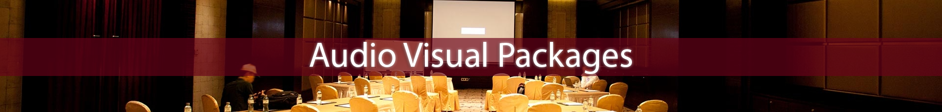 Audio Visual Packages